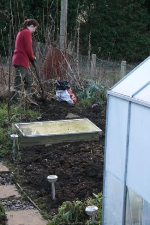 Digging my garden